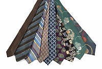"""COPY BY TOM BEDFORD<br /> Pictured: A selection of Italian ties once belonged to actor Patrick Swayze that was sold at auction<br /> Re: The iconic black leather jacket worn by Patrick Swayze in the hit film Dirty Dancing has sold for $50,000 (£38,612) at auction.<br /> It was bought by a fan after the tragic actor's wife decided to sell his movie memorabilia. <br /> The jacket had a reserve of just $6,000(£4,630) at the auction in Los Angeles but an internet bid of $25,000(£19,300) was received before the auction started.<br /> The salesroom erupted with applause when the hammer came down at $50,000.<br /> Auctioneer Darren Julien said: """"We always knew it would fetch big bucks.<br /> """"The jacket is the holy grail for Patrick Swayze fans and there are a lot out there.""""  <br /> The heart throb actor wore the James Dean-style jacket throughout Dirty Dancing including the  scene where he says: """"Nobody puts Baby in a corner"""".<br /> The jacket belonged to Swayze before the movie was made in 1987.<br /> Dirty Dancing was a low-budget movie and most of the clothes Swayze's wore were his own, including the leather jacket.<br /> Mr Julien said: """"Because it was his jacket he got to keep it after the movie and wore it whenever he felt like it."""