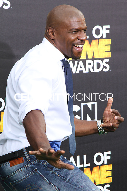 SANTA MONICA, CA, USA - FEBRUARY 15: Terry Crews at the 4th Annual Cartoon Network Hall Of Game Awards held at Barker Hangar on February 15, 2014 in Santa Monica, California, United States. (Photo by David Acosta/Celebrity Monitor)