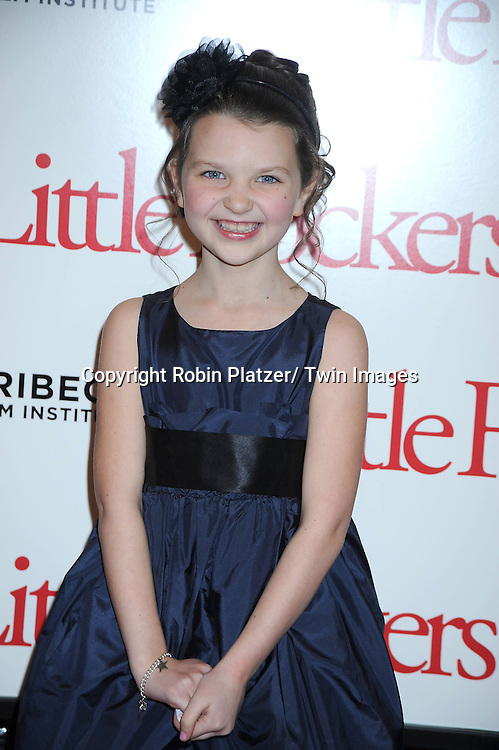 """Daisy Tahan at the World Premiere of """"Little Fockers"""",.benefiting the not-for-profit tribeca Film Institute on December 15, 2010 at The .Ziegfeld Theatre in New York City."""