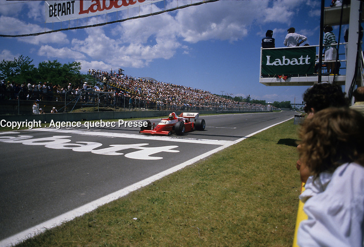 Grand Prix Labatt de Montreal, 1986<br /> <br /> photo (c) Agence Quebec Presse - Denis Alix