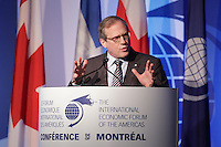 Louis Audet, <br /> President and Chief Executive Officer, Cogeco and Cogeco Communication  attend the 22nd edition of the Conference of Montreal, held June 13 to 15, 2016<br /> <br /> PHOTO : Pierre Roussel -  Agence Quebec Presse