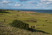 1st October 2021; Kingsbarns Golf Links, Fife, Scotland; European Tour, Alfred Dunhill Links Championship, Second round; A general view of at Kingsbarns Golf Links