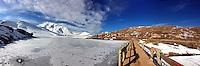 Ski resort at Oukaimeden, Morocco