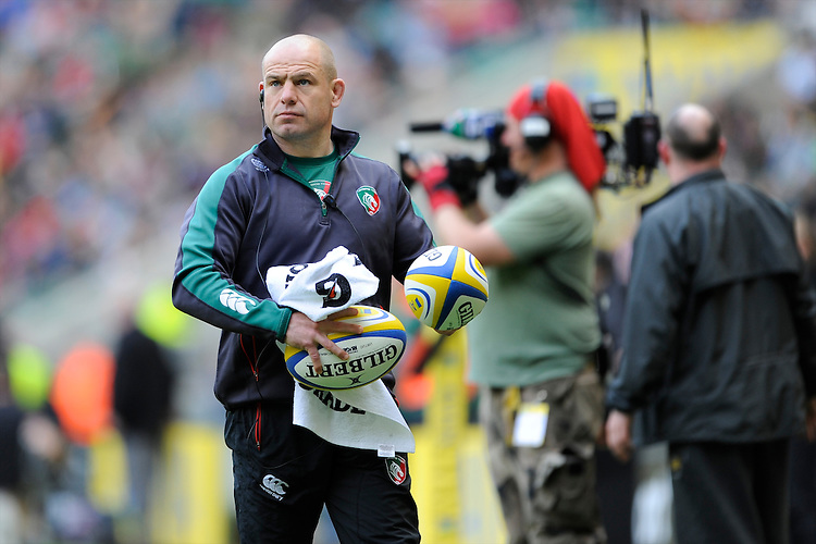 Richard Cockerill, Leicester Tigers Director of Rugby, before the Aviva Premiership Final between Leicester Tigers and Northampton Saints at Twickenham Stadium on Saturday 25th May 2013 (Photo by Rob Munro)