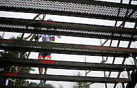 2015 CX World Champion Mathieu Van der Poel (NLD/BKCP-Powerplus) on the stairs<br /> <br /> Elite Men's Race<br /> Krawatencross<br /> bpost bank trofee