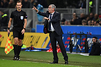 Fernando Santos coach of Portugal reacts during the Nations League League A group 3 football match between Italy and Portugal at stadio Giuseppe Meazza, Milano, November, 17, 2018 <br />  Foto Andrea Staccioli / Insidefoto