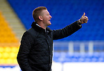 St Johnstone v Bristol City....28.07.12  Pre-Season Friendly.Thumbs up from Steve Lomas.Picture by Graeme Hart..Copyright Perthshire Picture Agency.Tel: 01738 623350  Mobile: 07990 594431
