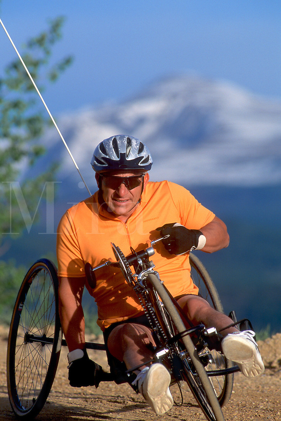 Active lifestyle for handicapped person.