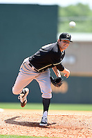 Omaha Storm Chasers pitcher Michael Mariot (33) delivers a pitch during a game against the Nashville Sounds on May 20, 2014 at Herschel Greer Stadium in Nashville, Tennessee.  Omaha defeated Nashville 4-1.  (Mike Janes/Four Seam Images)
