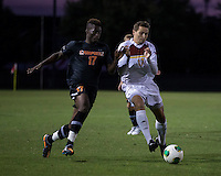The Winthrop University Eagles lose 2-1 in a Big South contest against the Campbell University Camels.  Adriano Negri (w17), Keegan Terry (17)