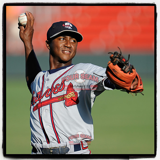 #OTD On This Day, June 12, 2015, Ozhaino Albies of the Rome Braves was in the lineup at shortstop in a game against the Greenville Drive at Fluor Field at the West End in Greenville, South Carolina. He would later be better known as Ozzie Albies. He has played for Atlanta for the past three seasons. (Tom Priddy/Four Seam Images) #MiLB #OnThisDay #MissingBaseball #nobaseball #stayathome #minorleagues #minorleaguebaseball #Baseball #SallyLeague #AloneTogether