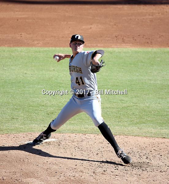 J.T. Brubaker - Glendale Desert Dogs - 2017 Arizona Fall League (Bill Mitchell)