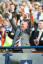 15/05/2010   Copyright  Pic : James Stewart.sct_js005_ross_county_v_dundee_utd  .:: DUNDEE UTD MANAGER PETER HOUSTON LIFTS THE CUP  ::  .James Stewart Photography 19 Carronlea Drive, Falkirk. FK2 8DN      Vat Reg No. 607 6932 25.Telephone      : +44 (0)1324 570291 .Mobile              : +44 (0)7721 416997.E-mail  :  jim@jspa.co.uk.If you require further information then contact Jim Stewart on any of the numbers above.........