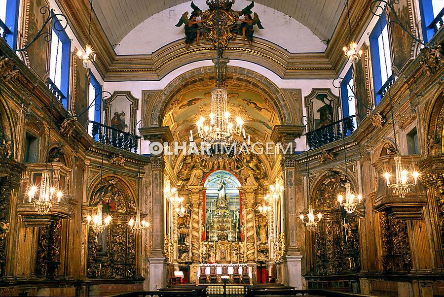 Igreja matriz Nossa Senhora da Conceição em Ouro Preto, Minas Gerais. 2001. Foto de Renata Mello.