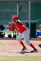 Anel De Los Santos - Los Angeles Angels - 2009 spring training.Photo by:  Bill Mitchell/Four Seam Images
