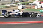 Bruno Senna (19) driver of the Williams in action during the Formula 1 United States Grand Prix practice session at the Circuit of the Americas race track in Austin,Texas. The Formula 1 United States Grand Prix will take place on 18 November 2012....