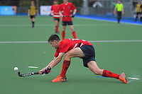 Action from the boys match between Whanganui High School and Feilding High School on day three of the 2020 Lower North Island Hockey Premiership tournament at Fitzherbert Park Twin Turfs in Palmerston North, New Zealand on Wednesday, 2 September 2020. Photo: Dave Lintott / lintottphoto.co.nz