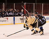 Alex Wilkinson (Army - 7), Tyler Deresky (Bentley - 11) - The Bentley University Falcons defeated the Army West Point Black Knights 3-1 (EN) on Thursday, January 5, 2017, at Fenway Park in Boston, Massachusetts.The Bentley University Falcons defeated the Army West Point Black Knights 3-1 (EN) on Thursday, January 5, 2017, at Fenway Park in Boston, Massachusetts.