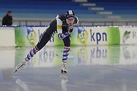 SCHAATSEN: HEERENVEEN: 21-12-2019, IJsstadion Thialf, KNSB trainingswedstrijd, Sanne in 't Hof, ©foto Martin de Jong