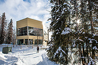 UAA's Alaska Native Science and Engineering Building.