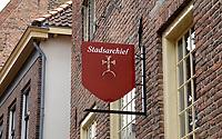 Nederland  Zutphen 2020. Historische binnenstad. Stadsarchief.  Foto : ANP/ HH / Berlinda van Dam