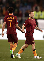 Calcio, Serie A: Roma, stadio Olimpico, 1 aprile, 2017.<br /> during the Italian Serie A football match between Roma and Empoli at Olimpico stadium, April 1, 2017<br /> UPDATE IMAGES PRESS/Isabella Bonotto