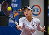 Amstelveen, Netherlands, 5  Juli, 2021, National Tennis Center, NTC, Amstelveen Womans Open, Anastasia Detiuc (CZE)<br /> Photo: Henk Koster/tennisimages.com
