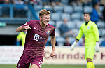 Queen of the South v St Johnstone…18.08.18…  Palmerston    BetFred Cup<br />Callum Hendry celebrates his goal<br />Picture by Graeme Hart. <br />Copyright Perthshire Picture Agency<br />Tel: 01738 623350  Mobile: 07990 594431