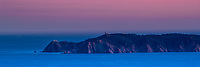 """""""Ile du levant"""" island sunset, in Port-Cros and Porquerolles marine National Park, from my house, Rayol-Canadel, French Riviera (Côte d'Azur) France"""