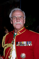 Gordon Atkinson in parade uniform, October 1996.<br /> <br /> Long-time broadcaster and politician Gordon Atkinson has died at the age of 83 in January 2006.<br /> <br /> Atkinson was born in Winnipeg on Aug. 24, 1922.<br /> <br /> He fought in both the Second World War and in the Korean War.<br /> <br /> He became a radio announcer in Calgary in 1937. He worked in radio, television, cinema and theatre between 1946 and 1950.<br /> <br /> Atkinson worked at the CBC in Toronto in 1952, and then moved to Montreal in 1953. He worked at both CBC Radio and CBC Television in Montreal from 1958 to 1981. He then moved to the private radio station CJAD, where he worked until 1989.<br /> <br /> He then decided to delve into politics, running for the newly created Equality Party and winning the seat of Notre-Dame-de-Gr¿ce in 1989. Atkinson then sat as an independent in the National Assembly from March 29, 1994. He was defeated as an independent candidate in 1994.<br /> <br /> photo (c)  Images Distribution