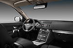 passenger side dashboard view of a 2012 Volvo XC90.