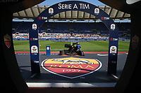 banner Serie A TIM<br /> Roma 31-03-2019 Stadio Olimpico, <br /> Football Serie A 2018/2019 AS Roma - Napoli <br /> Foto Cesare Purini / Insidefoto