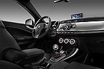 Passenger side dashboard view of a 2010 - 2014 Alfa Romeo Giulietta 5 door hatchback.