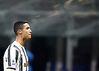 Calcio, Serie A: Inter Milano - Juventus FC , Giuseppe Meazza (San Siro) stadium, in Milan, January 17, 2021.<br /> Juventus' Cristiano Ronaldo leaves the pitch at the end of the Italian Serie A football match between Inter and juventus at Giuseppe Meazza (San Siro) stadium, January 17,  2021.<br /> Inter wins the match 2-0.<br /> UPDATE IMAGES PRESS/Isabella Bonotto