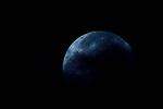 Theia / superluna azul, 31 de enero de 2018.<br /> <br /> Edición de 10 + 1 P/A | Víctor Santamaría.