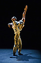 London, UK. 18.06.2015. English National Ballet presents CHOREOGRAPHICS, an evening of new work from emerging and developing choreographers, in the Lilian Baylis studio at Sadler's Wells. This piece is A ROOM IN NEW YORK, choreographed by Stina Quagebeur. The dancers are: Crystal Costa, James Forbat. Photograph © Jane Hobson.