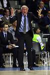 Euroleague Basketball-Regular Season Game: 07<br /> FC Barcelona vs Fenerbahce Ulker Istanbul: 94-81.<br /> Zeljko Obradovic.