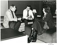 Joe Clark, le 25 novembre1979, pour la Coupe GREY a Montreal<br /> <br /> PHOTO :  John Raudsepp - Agence Quebec presse