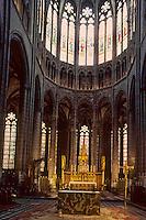 Europe/France/Auverne/63/Puy-de-Dôme/Clermont-Ferrand: La cathédrale Notre-Dame-de-l'Assomption (gothique) - Détail choeur