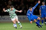 St Johnstone v Celtic...18.12.11   SPL .James Forrest skins Dave Mackay.Picture by Graeme Hart..Copyright Perthshire Picture Agency.Tel: 01738 623350  Mobile: 07990 594431