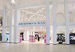 Hudson's Bay store front at Yorkdale shopping center, Toronto, Ontario, Canada 2014.