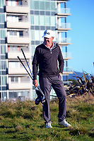 Mark Brown. Day two of the Renaissance Brewing NZ Stroke Play Championship at Paraparaumu Beach Golf Club in Paraparaumu, New Zealand on Friday, 19 March 2021. Photo: Dave Lintott / lintottphoto.co.nz