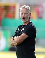 Trainer Mark Zimmermann /   / Portrait     <br /> / Sport / Football / DFB Pokal 1.round 3. Bundesliga 2.Bundesliga /  2018/2019 / 19.08.2018 / FC CZ Jena vs. 1.FC Union Berlin / DFL regulations prohibit any use of photographs as image sequences and/or quasi-video. /<br />       <br />    <br />  *** Local Caption *** © pixathlon<br /> Contact: +49-40-22 63 02 60 , info@pixathlon.de
