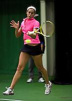 6-12-09, Almere, Tennis, REAAL winterjeugdcircuit, Masters,  Rosalie van der Hoek