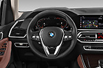 Car pictures of steering wheel view of a 2019 BMW X5 x Line 5 Door SUV