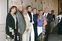 """Valerie Harper, Gavin MacLeod, Betty White, Mary Tyler Moore, Georgie Engel, Cloris Leachman  & Ed Asner arriving at the ATAS Honors Betty White """"Celebrating 60 Years on Television"""" at the Television Academy in No Hollywood, CA<br /> on August 7, 2008<br /> ©2008 Kathy Hutchins / Hutchins Photo"""