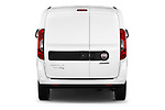Straight rear view of 2016 Fiat Doblo Pack 4 Door Cargo Van stock images