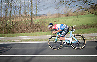 Mathieu Van der Poel (NED/Alpecin-Fenix) in supertuck<br /> <br /> 64th E3 Classic 2021 (1.UWT)<br /> 1 day race from Harelbeke to Harelbeke (BEL/204km)<br /> <br /> ©kramon