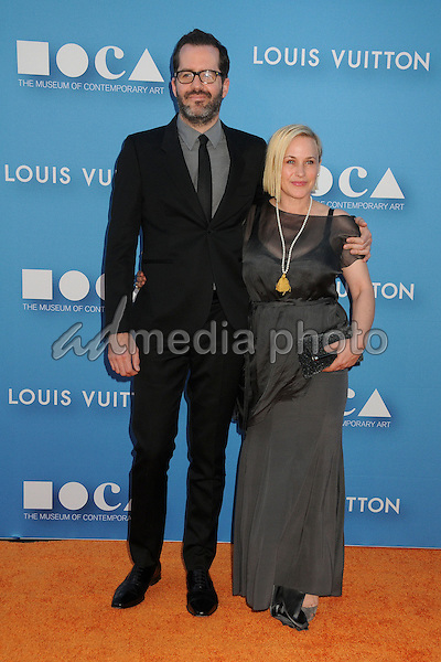 30 May 2015 - Los Angeles, California - Eric White, Patricia Arquette. MOCA Gala 2015 held at The Geffen Contemporary at MOCA. Photo Credit: Byron Purvis/AdMedia
