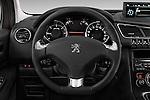 Steering wheel view of a 2014 Peugeot 3008 5 Door SUV 2WD